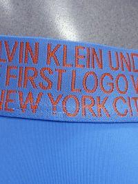 Boxer Calvin Klein Statement 1981 azul celeste