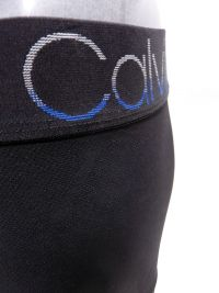 Boxer Calvin Klein microperforado en negro