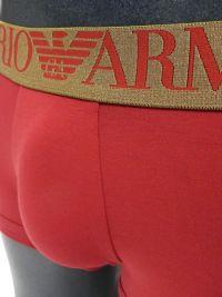 Boxer Emporio Armani Algodón Bear en rojo