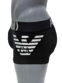 Boxer Emporio Armani Algodón Big Eagle en negro