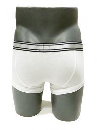 Boxer Emporio Armani en algodón en blanco