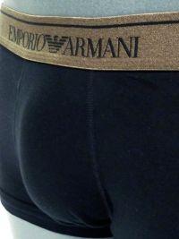 Boxer Emporio Armani Algodón en negro y cobre