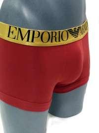Boxer Emporio Armani Algodón en Rojo Rubí