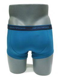 Boxer Emporio Armani Microfibra Azul Cobalto