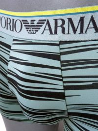 Boxer Emporio Armani Microfibra en gris azulado