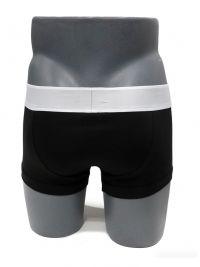 Boxer Emporio Armani en algodón en negro y blanco