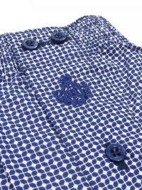 Boxer Guasch de tela con estampado geómetrico