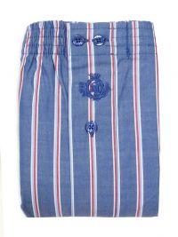 Boxer Guasch de tela a rayas tricolor