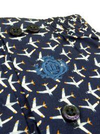 Boxer Guasch de tela estampado con aviones