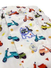 Boxer Kiff-kiff de tela con motocicletas