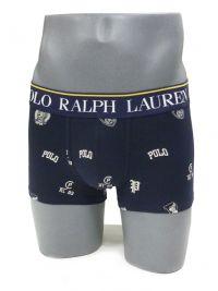 Boxer Polo Ralph Lauren Navy Logo