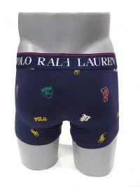 Boxer Polo Ralph Lauren Logos en azul marino