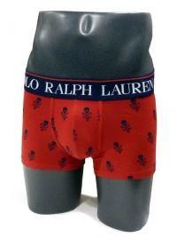 Boxer Polo Ralph Lauren con calaveras en rojo