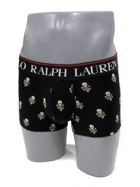 Boxer Polo Ralph Lauren con calaveras en negro