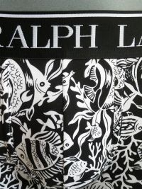 Boxer Polo Ralph Lauren fondo marino en negro