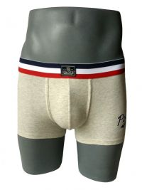 Boxer Polo Ralph Lauren gris jaspeado en algodón
