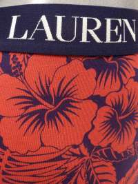 Boxer Polo Ralph Lauren Tropical Red