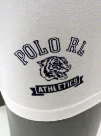 Boxer Polo Ralph Lauren Athletics Blanco