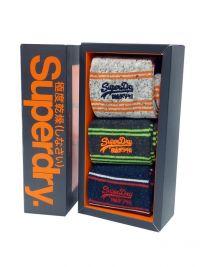3 Pack Calcetines Superdry en algodón