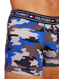 Boxer Tommy Hilfiger algodón estampado camuflaje marino