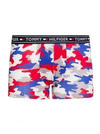 Boxer Tommy Hilfiger algodón estampado camuflaje rojo