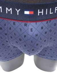 Boxer Tommy Hilfiger Microfibra Logo Argyle