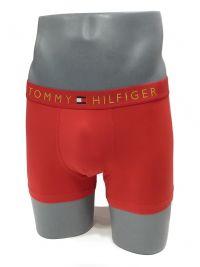 Boxer Tommy Hilfiger en color rojo de microfibra