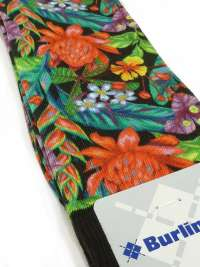 Calcetín Burlington Tropical Print Men