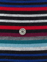 Calcetines Burlington Stripe a rayas en gris antracita