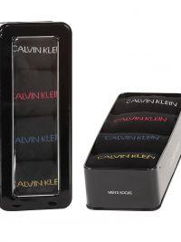 4 Pack Calcetines Calvin Klein en negro