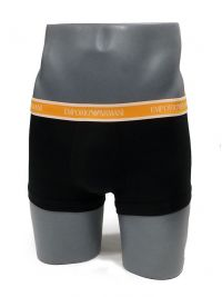 3 Pack Boxers Emporio Armani en negro y neón ANC