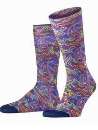 Calcetines Burlington Fashion Paisley Cachemira Print de algodón