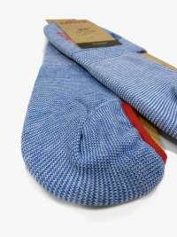 Calcetín Levi´s  Azul Jeans Jaspeado Invisible