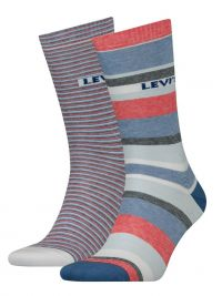 2 Pack de Calcetines Levi´s a rayas azul