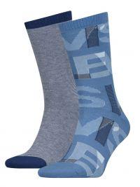 2 Pack de Calcetines Levi´s Azul Logo