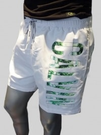Bañador Calvin Klein White Logo