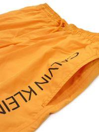 Bañador Hombre Calvin Klein Short Runner Naranja