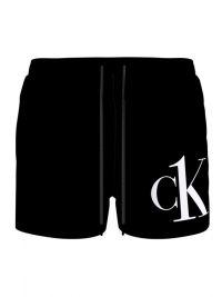 Bañador Calvin Klein Short Logo en Negro