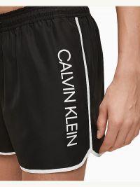 Bañador Calvin Klein Short Runner Logo Negro