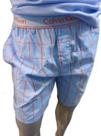 Pijama Calvin Klein Combinado Azul Algodón