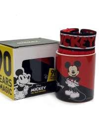 Boxer Admas Mickey Mouse Ed. 90 Años en Rojo