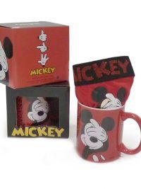 Boxer Admas Mickey Mouse en Rojo