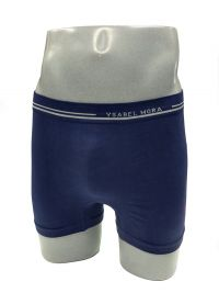 Calzoncillo sin costuras Ysabel Mora en algodón en azul
