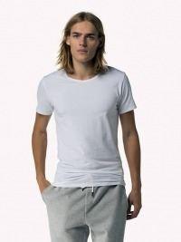 Camiseta Tommy Hilfiger blanca cuello redondo