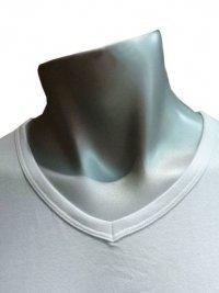 Camiseta Tommy Hilfiger blanca cuello pico