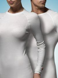 Camiseta M. Larga Térmica Blackspade en blanco
