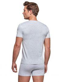Camiseta cuello pico Impetus Organic Cotton en gris
