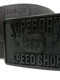 Cinturón Superdry Eastern Belt Negro