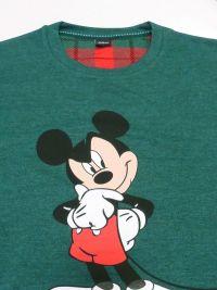 Pijama Disney de Mickey Mouse en verde con puños