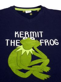 Pijama Hombre Disney de la rana Gustavo Kermit